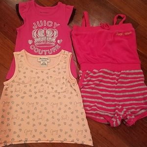 Juicy Couture Toddler Girl's Bundle